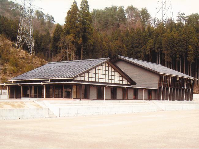 南越前町 日野川上流地区多目的集会施設